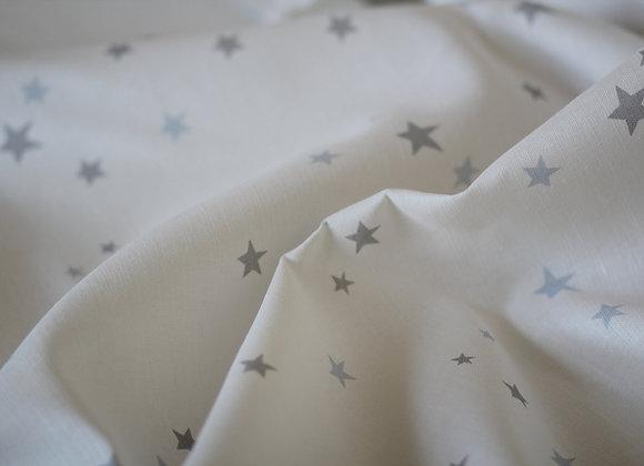 Large Coloured Stars on White