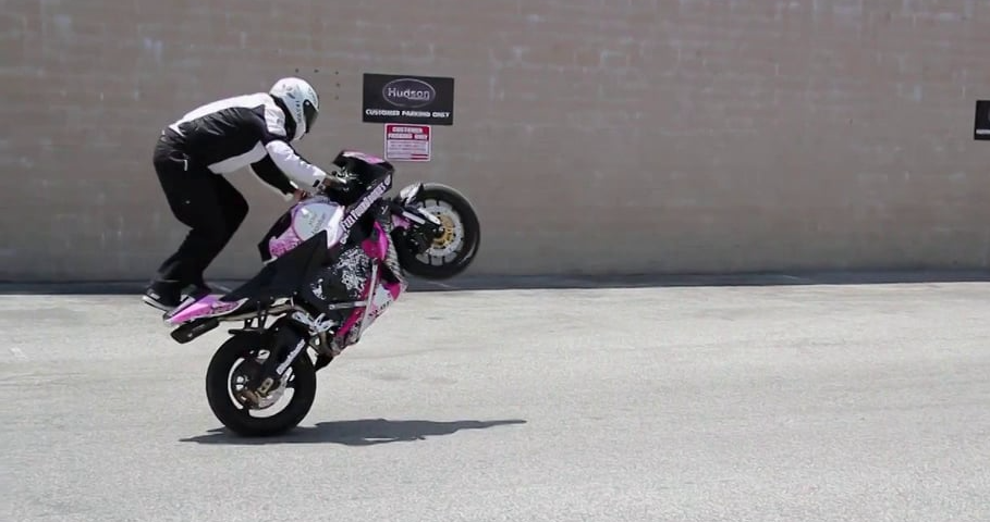 Hudson Motorcycles Grand Opening & Clint Ewing Stunt Performance