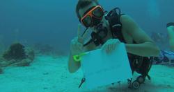An Underwater Message