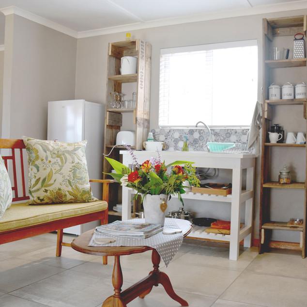 Living Room + Kitchen