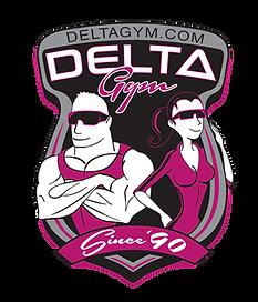 Delta Gym Fitness Logo