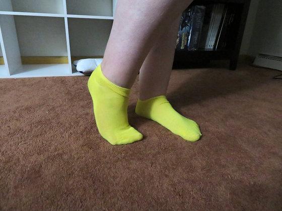 Cute Yellow Socks