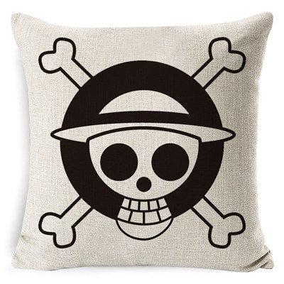 One Piece Jolly Rodger Flag Pillowcase