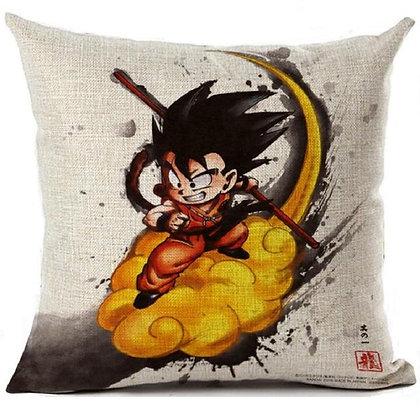 Goku on Flying Nimbus Pillowcase