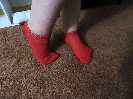 Normal Red Socks