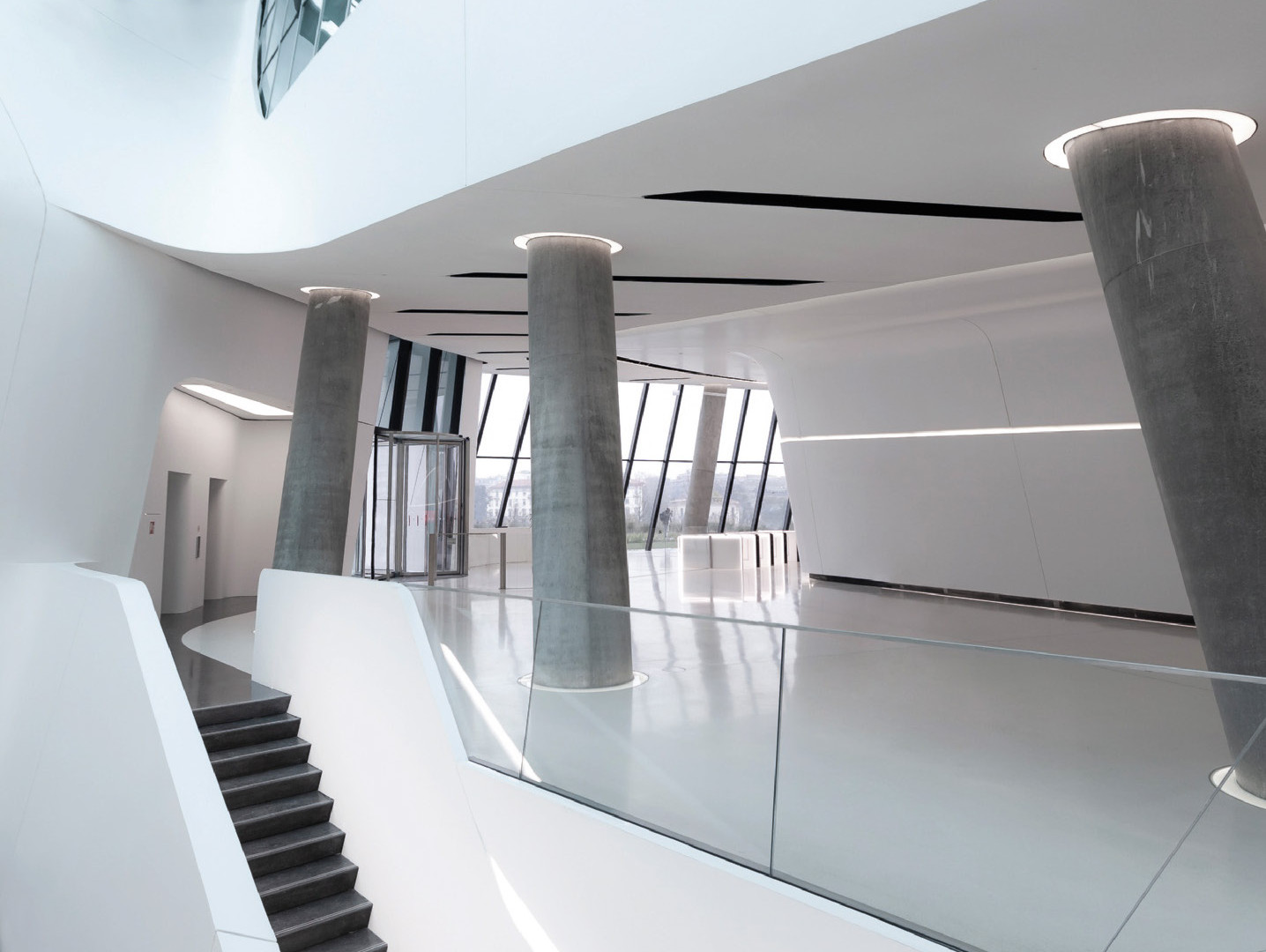 Torre Hadid - Hall ingresso 1 - Credits