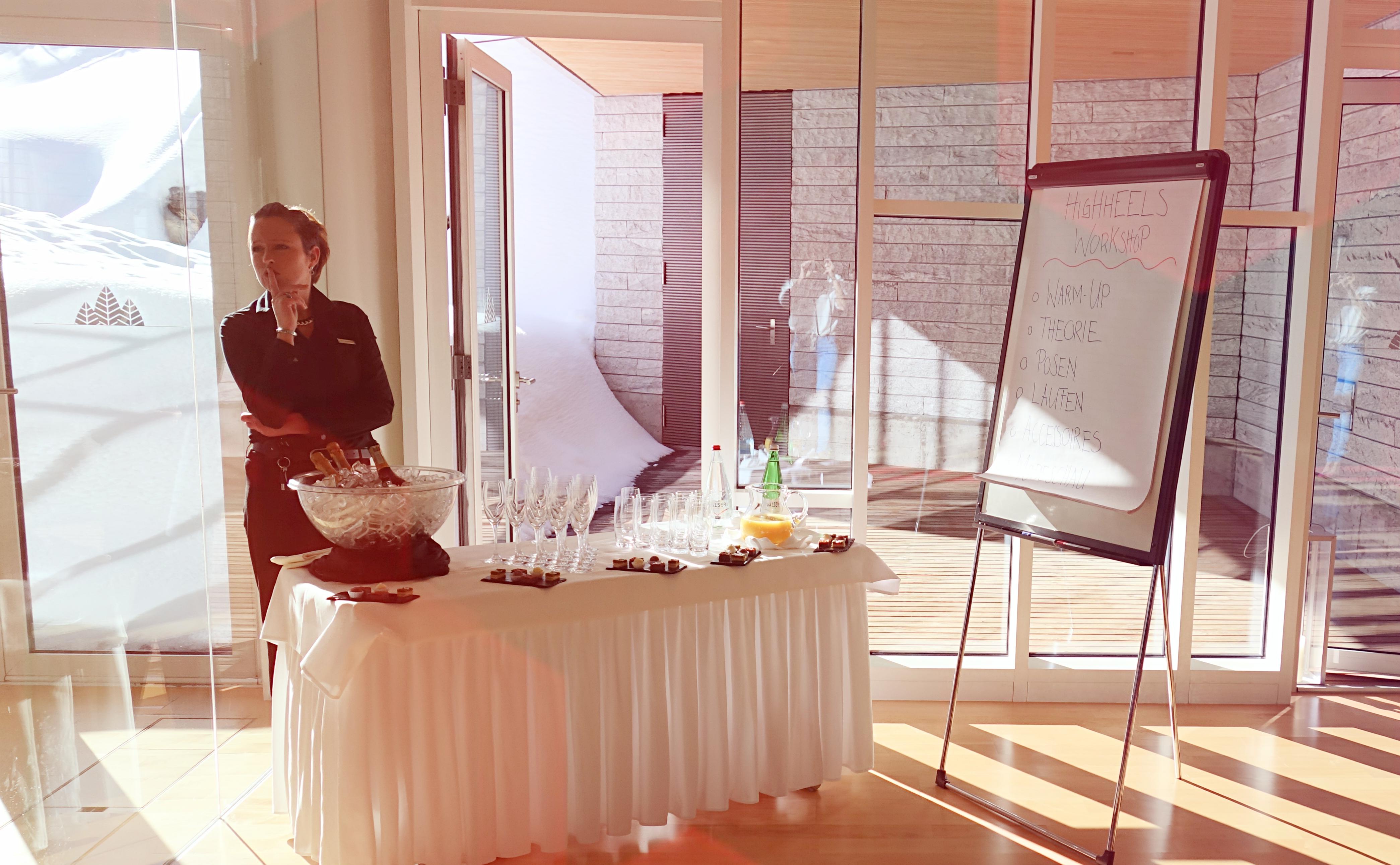 Workshop Vorbereitungen im 5*Tschugg