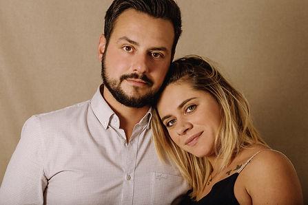Elodie et Yannick . Maternite . Studio e