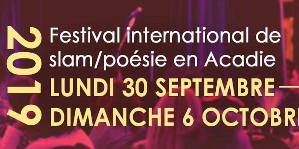 FESTIVAL INTERNATIONAL DE SLAM DE MONCTON