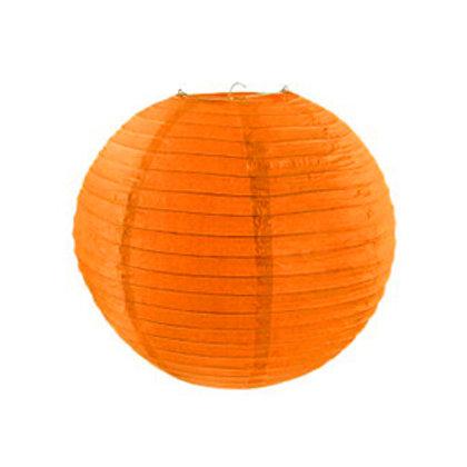 ペーパーランタン(オレンジ)