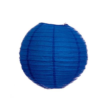 ペーパーランタン(青色)