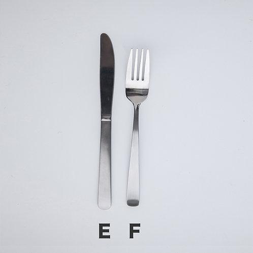E:オードブルナイフ