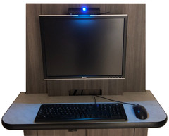 UV-24 used within an office workstation