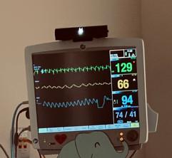 UV-24 disinfecting Medical Station Monitor