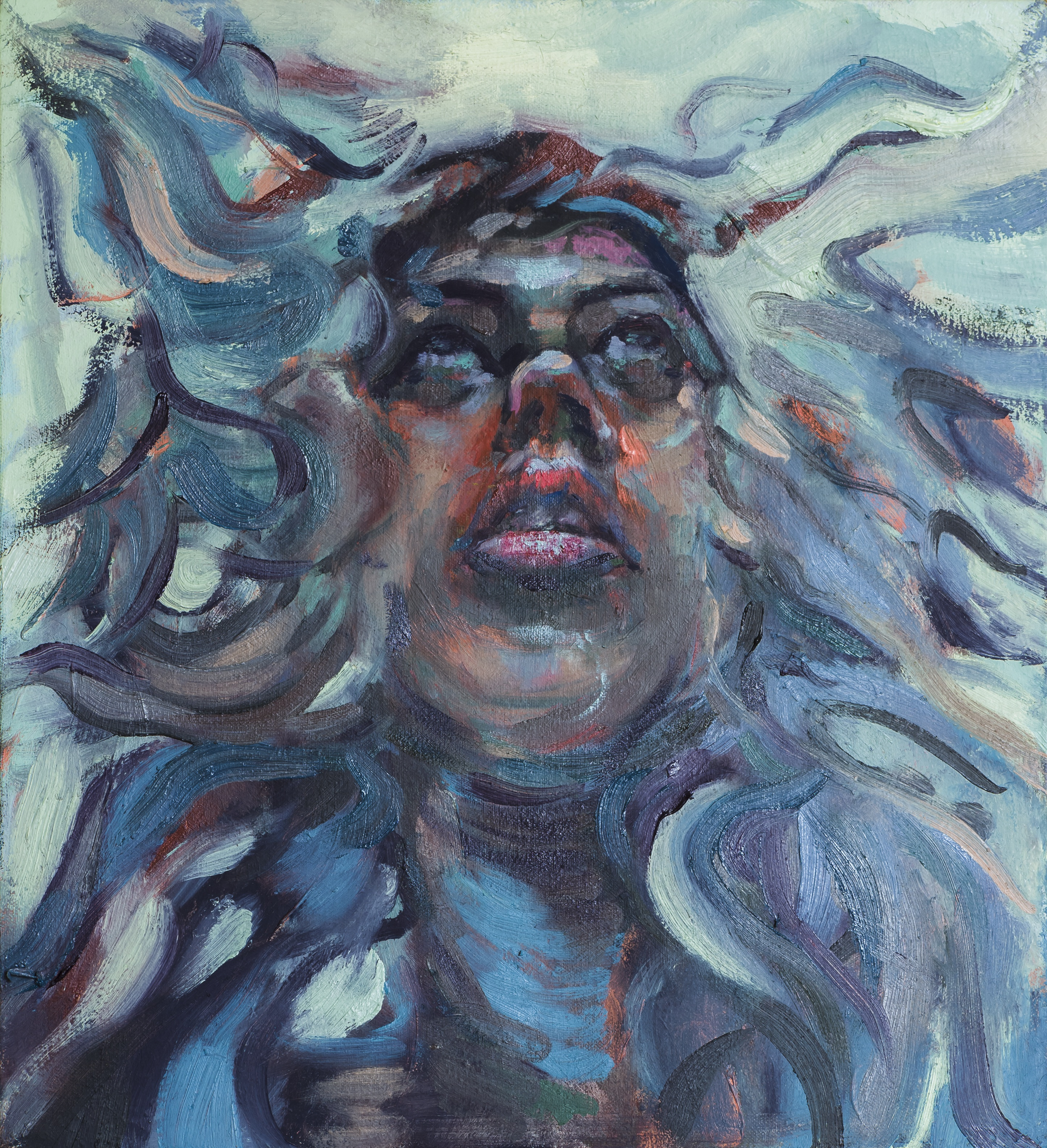 Medusa, Self Portrait I
