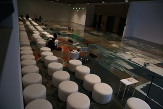 Whitney Museum, seating design