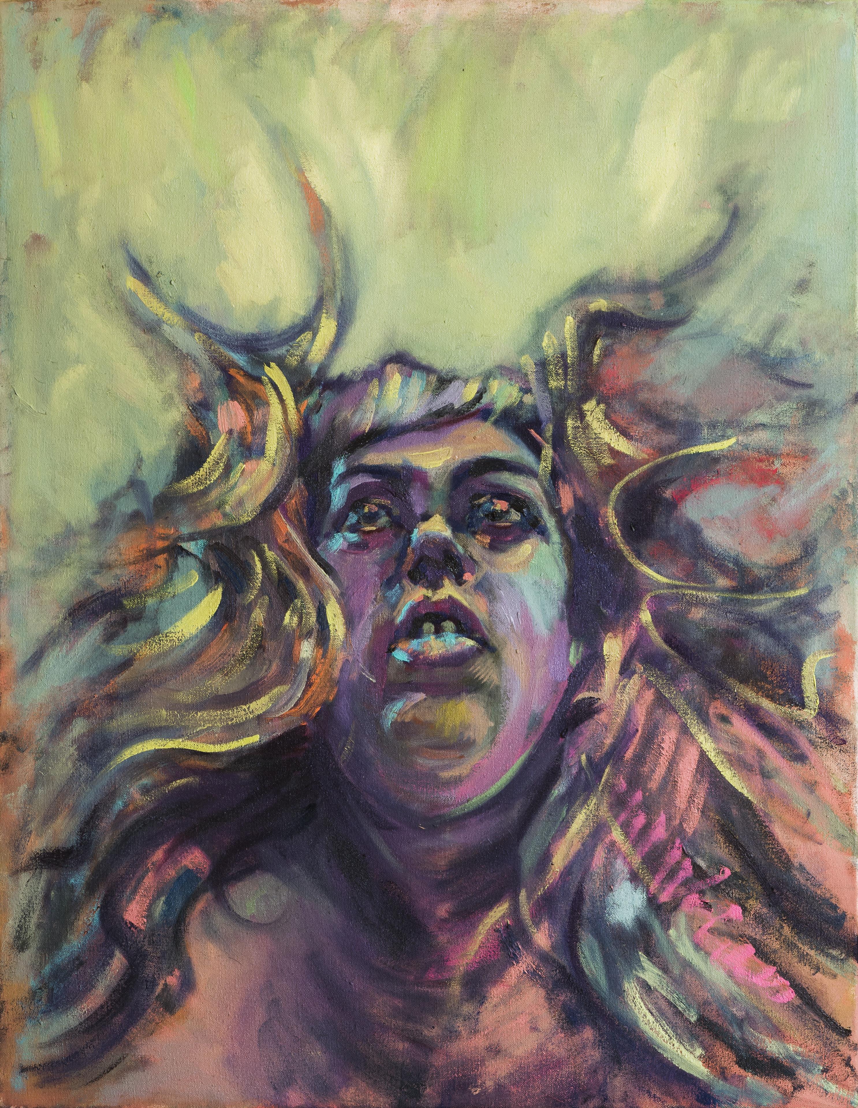 Medusa, Self Portrait II