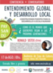 Entendimiento Globla y Desarrollo Local