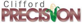 Clifford Precision & Seed Logo Dark Hire