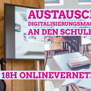 Austausch der Digitalisierungsmacher*innen an den Schulen in Baden-Württemberg Mi, 02.12.2020 18h