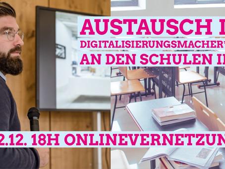 Austausch der Digitalisierungsmacher*innen an den Schulen in Baden-Württemberg Mittwoch, 02.12.2020