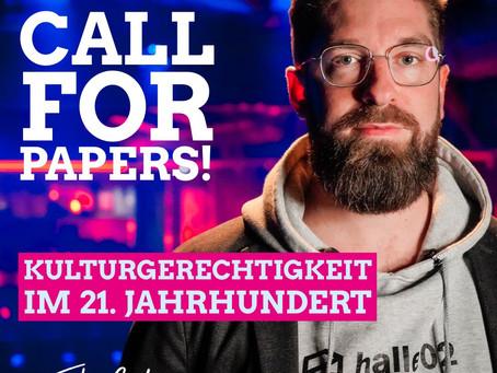 Call for Papers! Kulturgerechtigkeit im 21. Jahrhundert