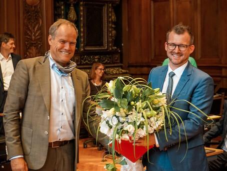 Raoul Schmidt-Lamontain ist neuer Klimaschutz-Bürgermeister