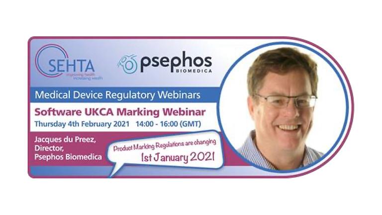 Software UKCA Marking Webinar