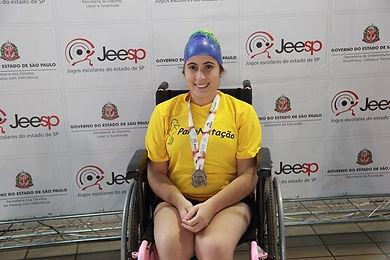 Nadadora Paralímpica