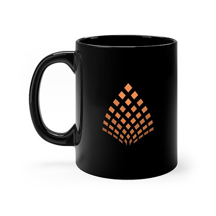 Liberation Movement 11oz Mug (Black/Orange)