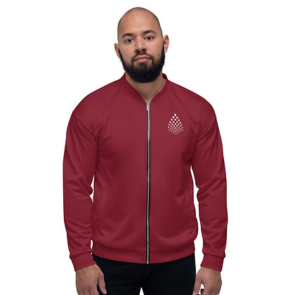 LIBR8R Classic Bomber Jacket (Red)
