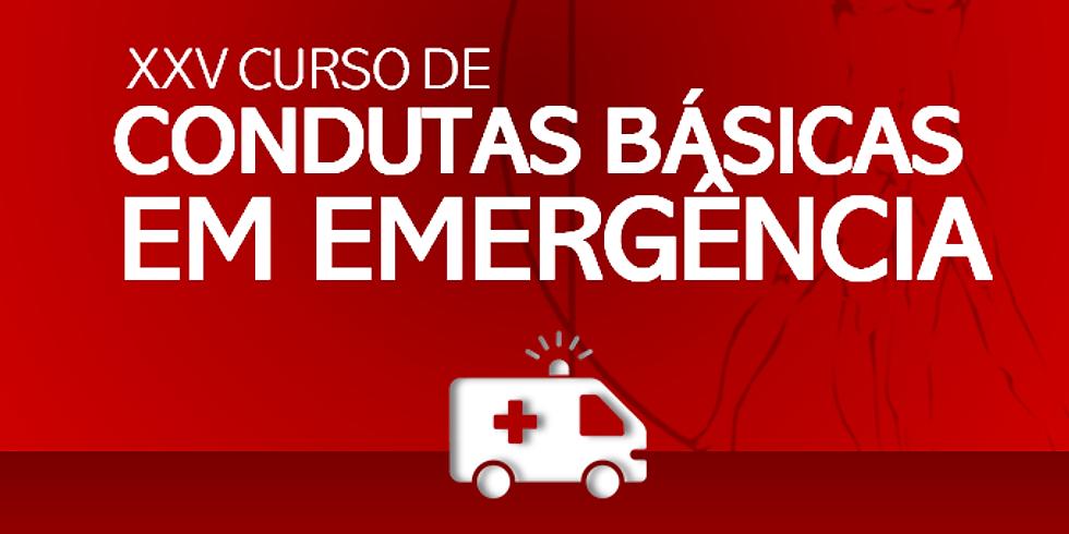 CURSO DE CONDUTAS BÁSICAS EM EMERGÊNCIA