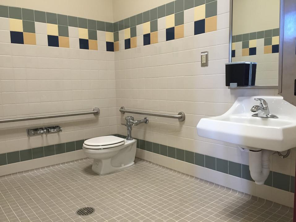 School Kindergarten Bathroom