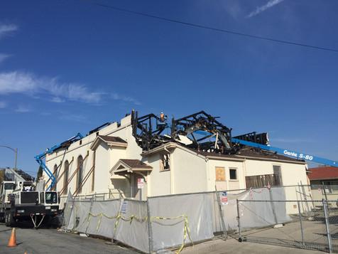 Fire Repair Church Demo