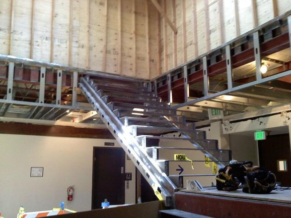 New Stairwell in Commercial Building