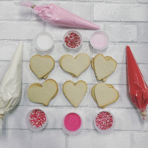 Valentine Cookie Kits