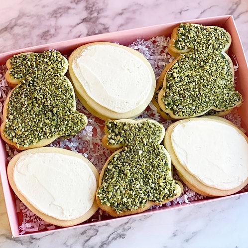 Garden Bunny Cookies