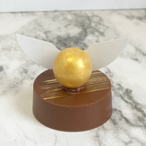 Golden Snitch Chocolate Covered Oreo
