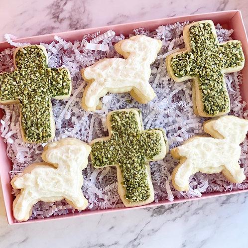 Garden Cross Cookies