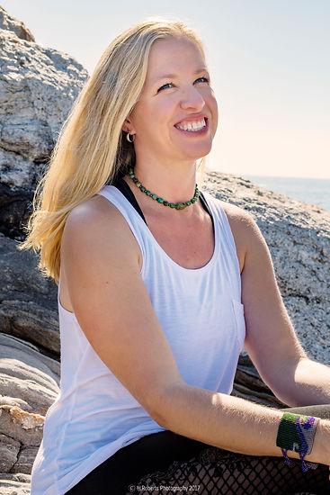 Jaime Boswell, owner of Whole Soul Yoga, Bokeelia, Pine Island, FL