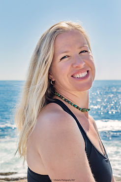 Jaime Boswell, owner of Whole Soul Yoga, Bokeelia, Pine Island, FL
