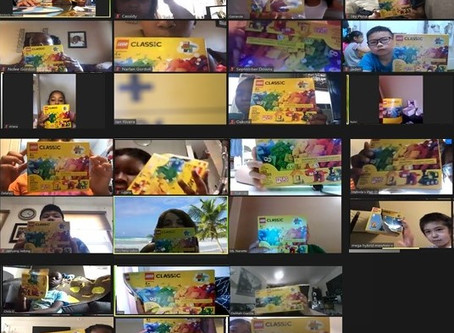 Building together virtually in Nick's Lego Program