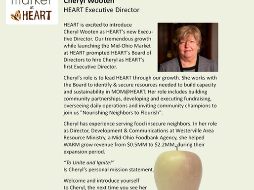 Our New Executive Director: Cheryl Wooten