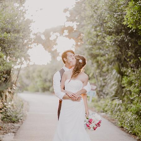 Our Beachside Wedding in Bald Head Island, NC