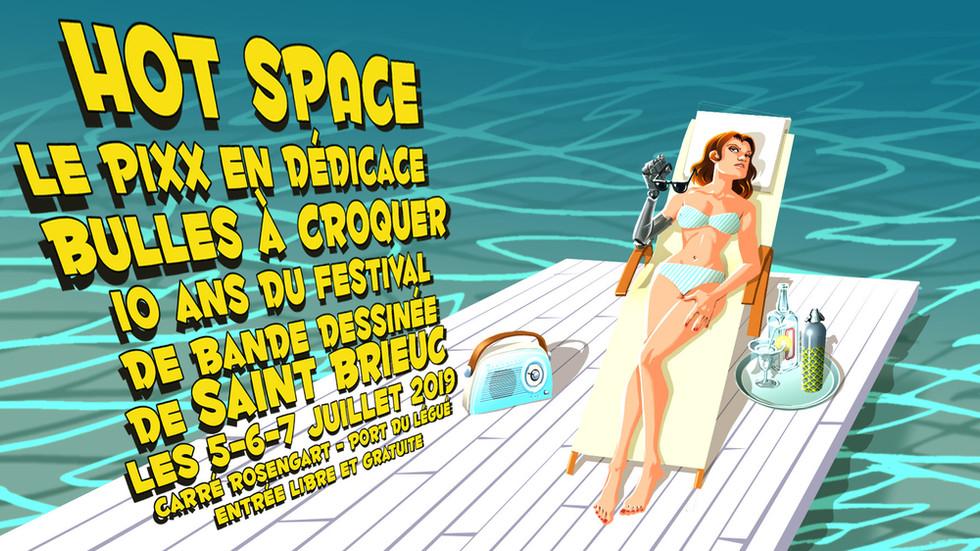 Hot Space à Saint Brieuc !