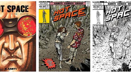 Hot Space tome 2 : Rage En librairies !