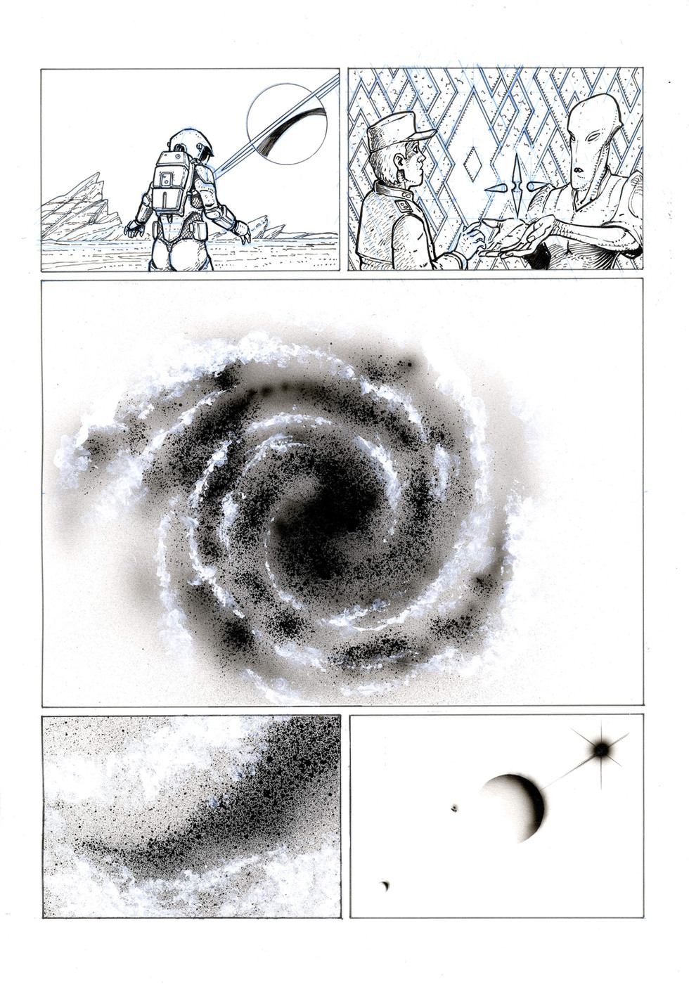 Noires sont les galaxies...