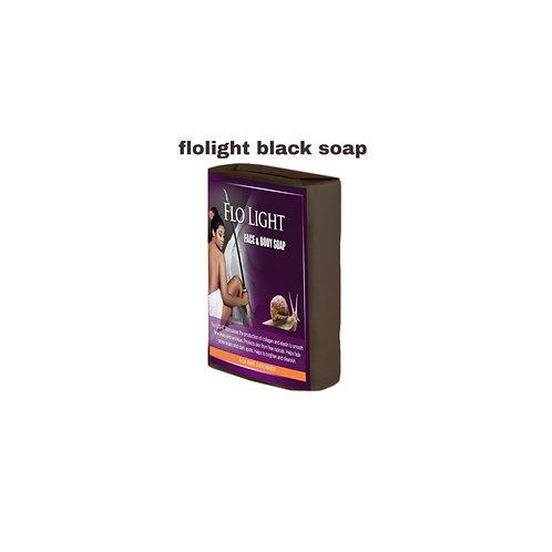 1 Dozens         FLOLIGHT BLACK SOAP
