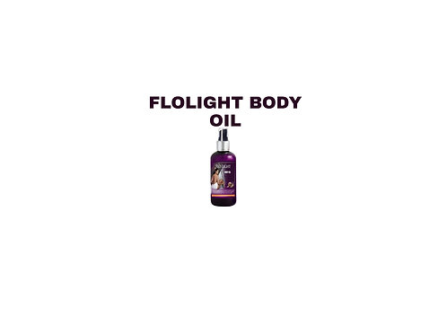 Flolight body oil