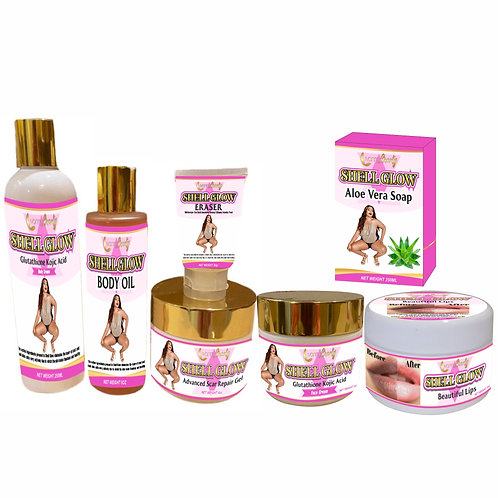 Shell glow complete set of 7 BUY ONE GET ONE FREE